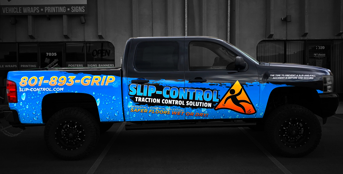 Salt Lake City Vehicle Wraps