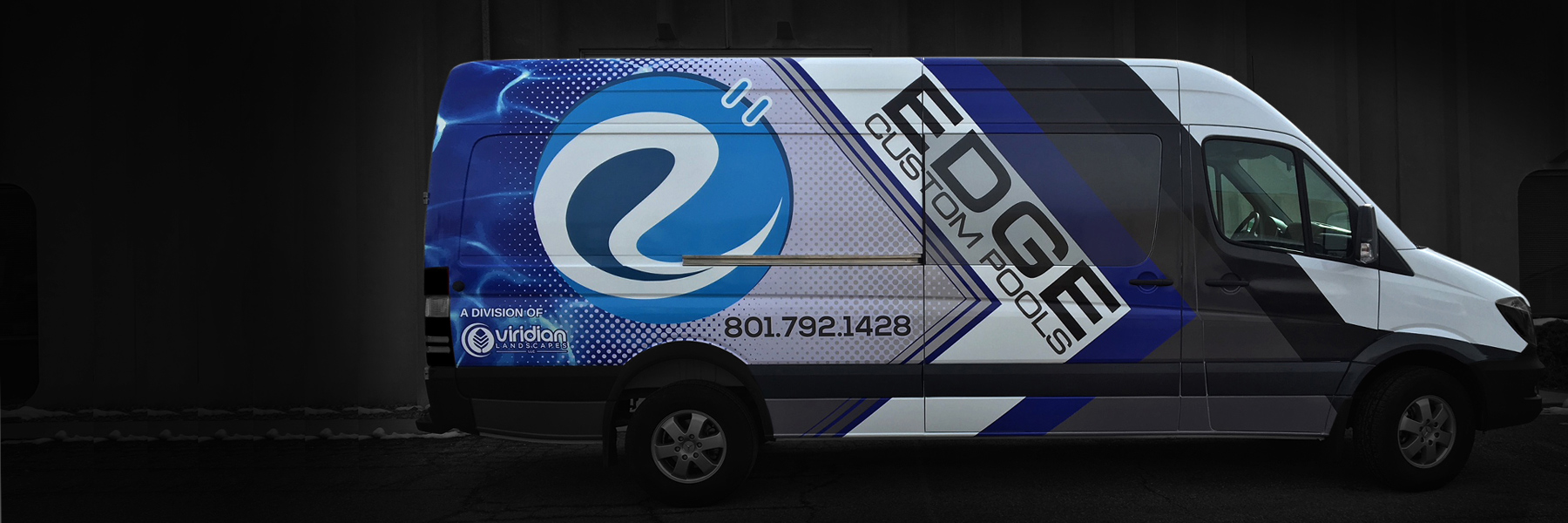 Utah Vehicle Wraps - Edge Van